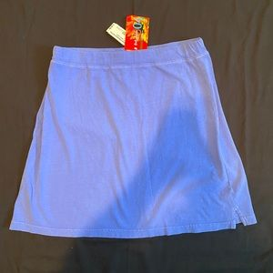 NWT Fresh Produce XL Blue Skirt Short Periwinkle